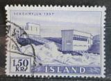 Poštovní známka Island 1956 Elektrárna Sogs Mi# 306
