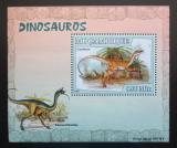 Poštovní známka Mosambik 2007 Dinosauři DELUXE Mi# 2966 Block