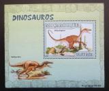 Poštovní známka Mosambik 2007 Dinosauři DELUXE Mi# 2967 Block