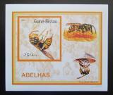 Poštovní známka Guinea-Bissau 2001 Včely a vosy DELUXE Mi# 1510 Block