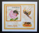 Poštovní známka Guinea-Bissau 2001 Včely a vosy DELUXE Mi# 1511 Block