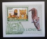 Poštovní známka Togo 2010 Lvi DELUXE Mi# 3470 Block