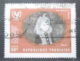 Poštovní známka Togo 1970 Umění, Renoir Mi# 830