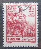 Poštovní známka Sýrie 1954 Zemědělství Mi# 630