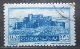 Poštovní známka Sýrie 1953 Pevnost Qal at al Hisn Mi# 624
