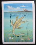 Poštovní známka Guinea 1999 Elasmosaurus Mi# Block 585 Kat 13€