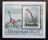 Poštovní známka Svatý Tomáš 2010 Dinosauři DELUXE neperf. Mi# 4547 Block