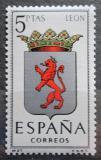 Poštovní známka Španělsko 1964 Znak Leon Mi# 1443