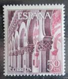 Poštovní známka Španělsko 1965 Synagoga v Toledu Mi# 1559