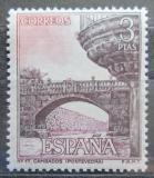 Poštovní známka Španělsko 1965 Starý most, Cambados Mi# 1563