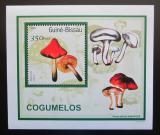 Poštovní známka Guinea-Bissau 2001 Houby DELUXE Mi# 1578 Block
