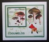 Poštovní známka Guinea-Bissau 2001 Houby DELUXE Mi# 1582 Block