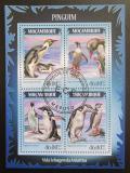 Poštovní známky Mosambik 2014 Tučňáci Mi# 7285-88 Kat 11€