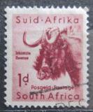 Poštovní známka JAR 1954 Pakůň běloocasý Mi# 240