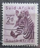 Poštovní známka JAR 1954 Zebra horská Mi# 242