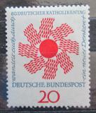 Poštovní známka Německo 1964 Den katolíků Mi# 444