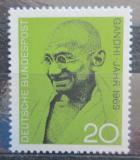 Poštovní známka Německo 1969 Mahatma Gandhi Mi# 608