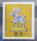 Poštovní známka Německo 1969 Vánoce Mi# 610