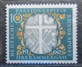 Poštovní známka Německo 1960 Oberammergau Mi# 329