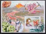 Poštovní známka Komory 2009 Mineralogové Mi# Block 463 Kat 15€