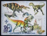 Poštovní známka Guinea-Bissau 2006 Dinosauři Mi# Block 566 Kat 12€