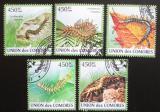 Poštovní známky Komory 2009 Stonožky Mi# 2328-32 10€