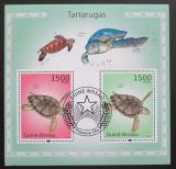Poštovní známky Guinea-Bissau 2010 Želvy Mi# Block 867 12€
