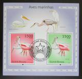 Poštovní známky Guinea-Bissau 2010 Vodní ptáci Mi# Block 860 Kat 12€