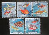 Poštovní známky Guinea-Bissau 2009 Tropické ryby Mi# 4468-72 Kat 13€