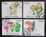 Poštovní známky Komory 2009 Květiny Mi# 2657-60 Kat 9€