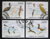 Poštovní známky Komory 2009 Mořští ptáci Mi# 2697-2700 Kat 9€