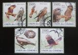 Poštovní známky Komory 2009 Ptáci Mi# 2382-86 Kat 9€