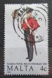 Poštovní známka Malta 1989 Vojenská uniforma Mi# 819