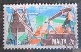 Poštovní známka Malta 1981 Stavba lodí Mi# 638