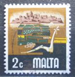Poštovní známka Malta 1973 Zemědělství Mi# 463