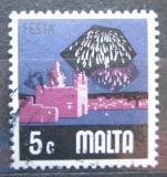 Poštovní známka Malta 1973 Ohňostroj Mi# 466