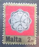 Poštovní známka Malta 1972 Mince Mi# 439