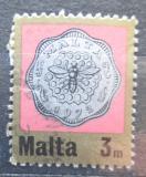 Poštovní známka Malta 1972 Mince Mi# 440