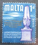 Poštovní známka Malta 1965 Cippus Mi# 302