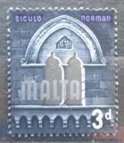 Poštovní známka Malta 1965 Architektura Mi# 306