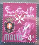 Poštovní známka Malta 1965 Kříž Maltézských rytířů Mi# 307
