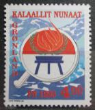 Poštovní známka Grónsko 1993 Mezinárodní rok původních obyvatel Mi# 230