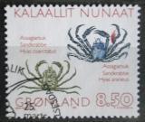 Poštovní známka Grónsko 1993 Krabi Mi# 233 Kat 4€