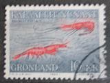 Poštovní známka Grónsko 1982 Krevetka severní Mi # 133