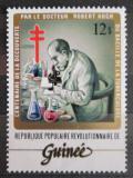 Poštovní známka Guinea 1983 Dr. Robert Koch s mikroskopem Mi# 950 Kat 3€