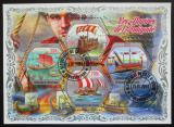 Poštovní známky Pobřeží Slonoviny 2018 Antická plavidla Mi# N/N