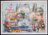 Poštovní známky Pobřeží Slonoviny 2018 Staré plachetnice Mi# N/N