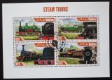 Poštovní známky Maledivy 2013 Parní lokomotivy Mi# 5038-41 Kat 10€