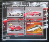 Poštovní známky Rwanda 2017 Staré navrhy automobilů Mi# N/N