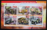 Poštovní známky Džibutsko 2015 Automobily Červeného kříže Mi# N/N